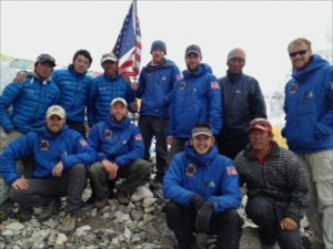 Team with Sherpas