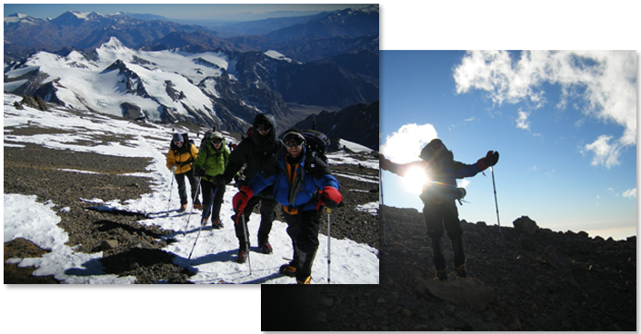 USAF 7 Summits Challenge - Climb to Top of Mt. Aconcagua