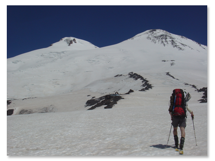 Climb of Mt. Elbrus July 31, 2005