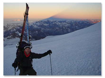 USAF Climb of Mt. Elbrus in 2005
